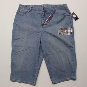 Gloria Vanderbilt Amanda Skimmer Jeans - 16W